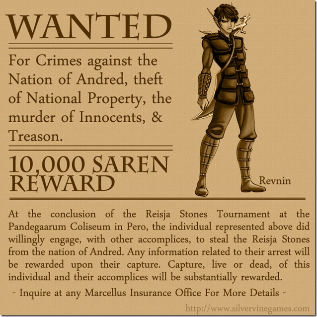 Reisja-Wanted-Revnin